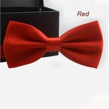 KLV бабочка галстук джентльмен модный галстук для мужчин цветная полосатая Бабочка для свадебной вечеринки классические подарки