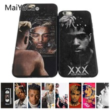 MaiYaCa Xxxtentacion Black TPU Soft Rubber Phone Case For iPhone 8s 8 plus 7 plus 6 6s plus Mobile phone cover