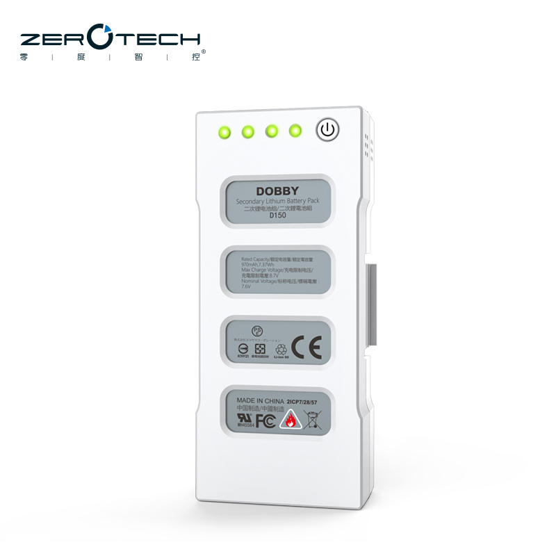 ZeroTech DOBBY Pocket Selfie Drone Accessories Parts 970mAh 2S Replace LiPo Battery ( D150 Battery )