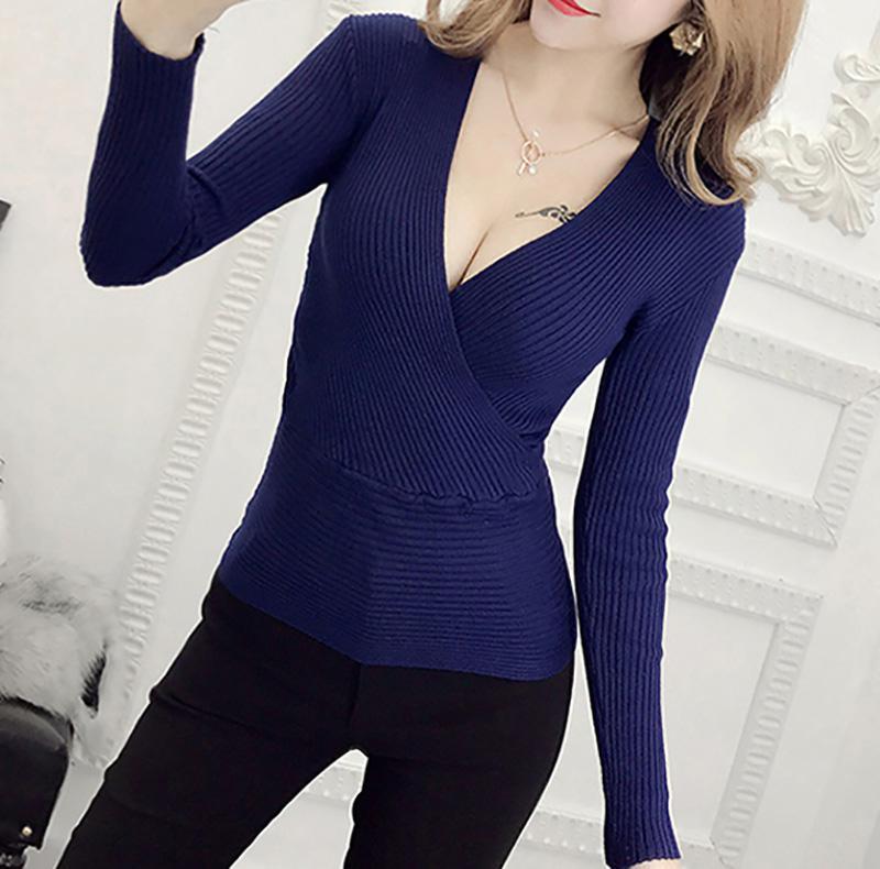 Drak Blue Sweater