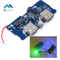 5V 2A Power Bank Charger Board Charging Circuit Board Step Up Boost Power Supply Module Dual