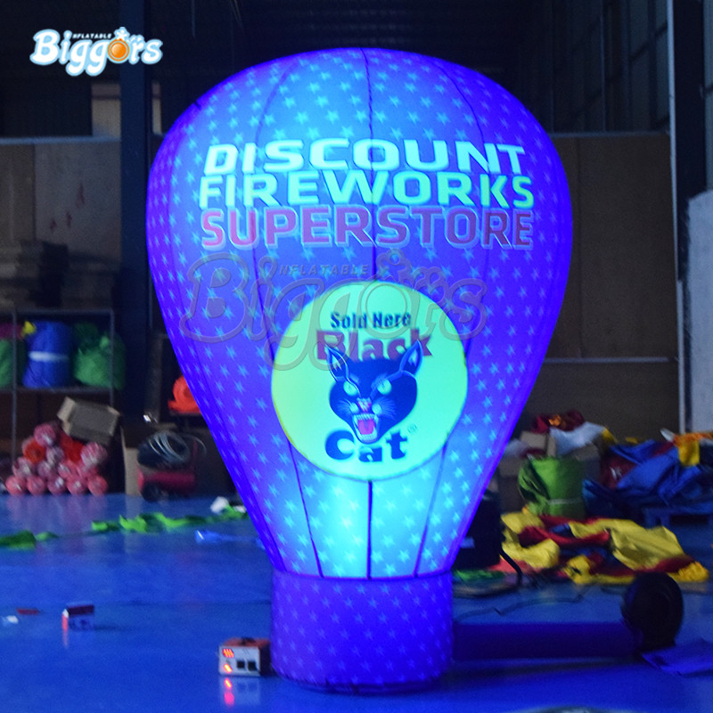 Customized inflatable led light balloon inflatable promotion balloon inflatable advertising balloon ao007 inflatable cake balloon event advertising 3 5m pvc fly balloon