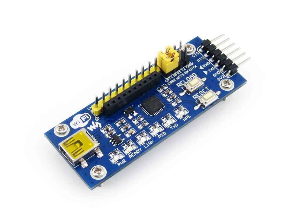 WIFI400 Wireless Module WIFI-LPT100 USB WIFI Module Communication Development Board USB To Serial Port UART Transeiver Module