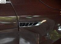 Original Side Wing Fender door Emblem Badge sticker Trim car stickers car styling For skoda Octavia Superb stickers
