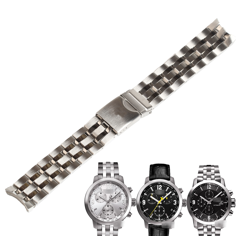 WENTULA watchbands for tissot T055.417/427/430/410 <font><b>PRC200</b></font> stainless steel solid band image