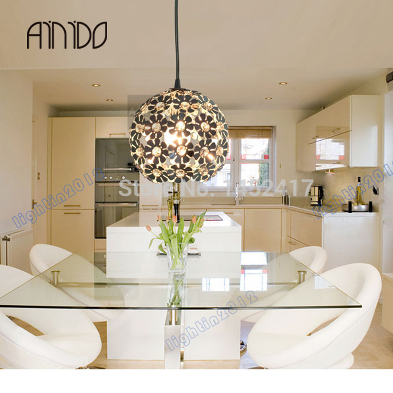 Dia.7 New Modern Flower Dining Room Bed Study Pendant Lamp Lighting Chandelier Free Shipping free shipping modern dining table designs discount lamp shades