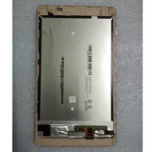 "Image 3 - 8.0 ""100% Getest Voor Huawei Mediapad M2 8.0 M2 801L M2 802L M2 803L Lcd Touch Screen Sensor Digitizer Vergadering + frame"