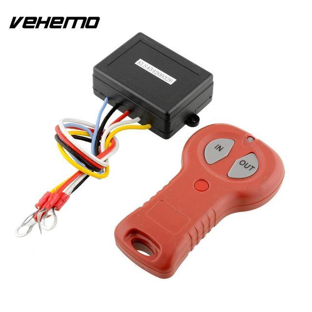 vehemo wireless electric winch 12v dc 50ft remote control system rh aliexpress com