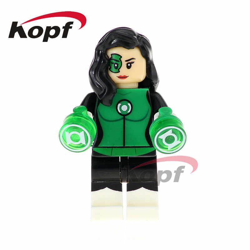 Singola Vendita Super Heroes Jessica Cruz Lex Luthor Saint Walker Atrocitus Mattoni Blocchi di Costruzione di Modello di Giocattoli Per Bambini Regalo XH 796