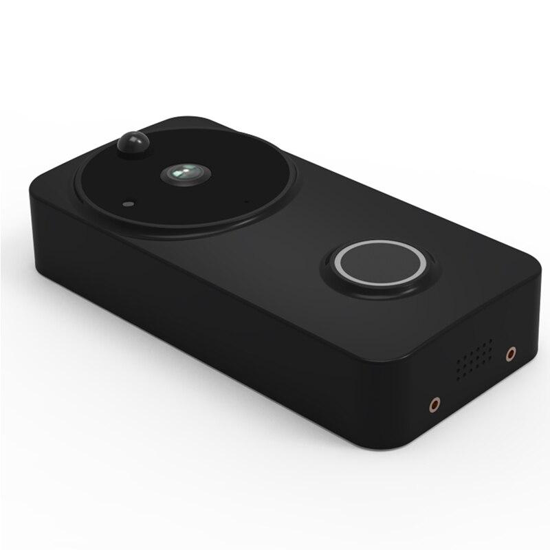 1080P IP54 Outdoor Tuya Battery Powered Ring Smart Wi-Fi Enabled Video Doorbell Camera PIR Motion Detection Works Alexa Google
