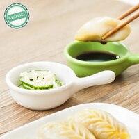 Ceramic Assorted Salad Sauce Ketchup Jam Dip Dish Clip Cup Bowl Saucer Gravy Snack Serving Dip