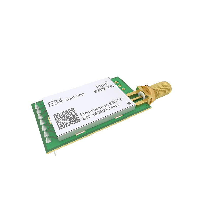 Image 3 - E34 2G4D20D nRF24L01P 2.4GHz 20dBm 2.4GHz rf Module Wireless Long Range  2km UART Long Range rf Transceiver Module-in Fixed Wireless Terminals from Cellphones & Telecommunications