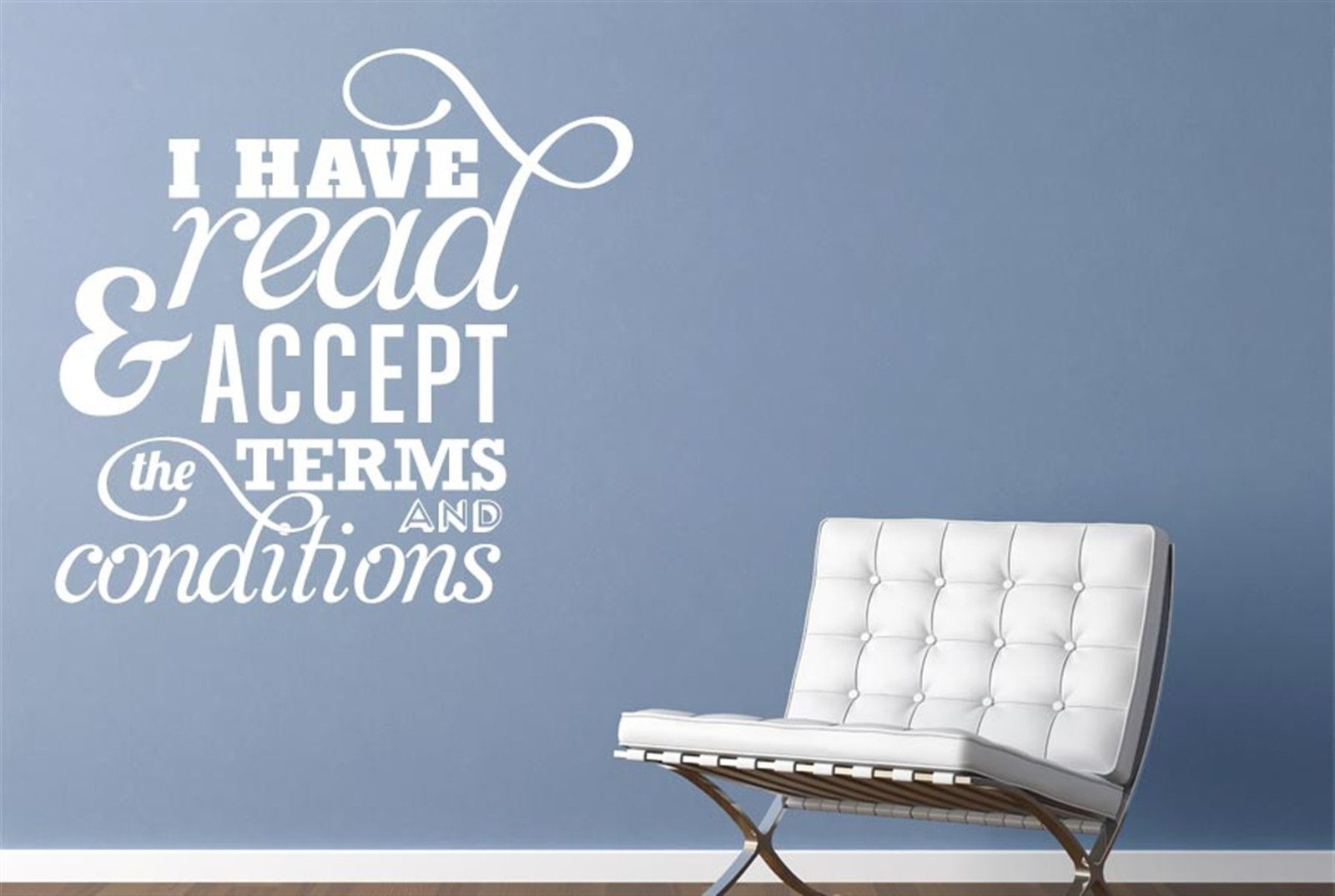 online get cheap term papers com alibaba group i have and accept the terms wall stickers decals art quotes decor vinyl shipping