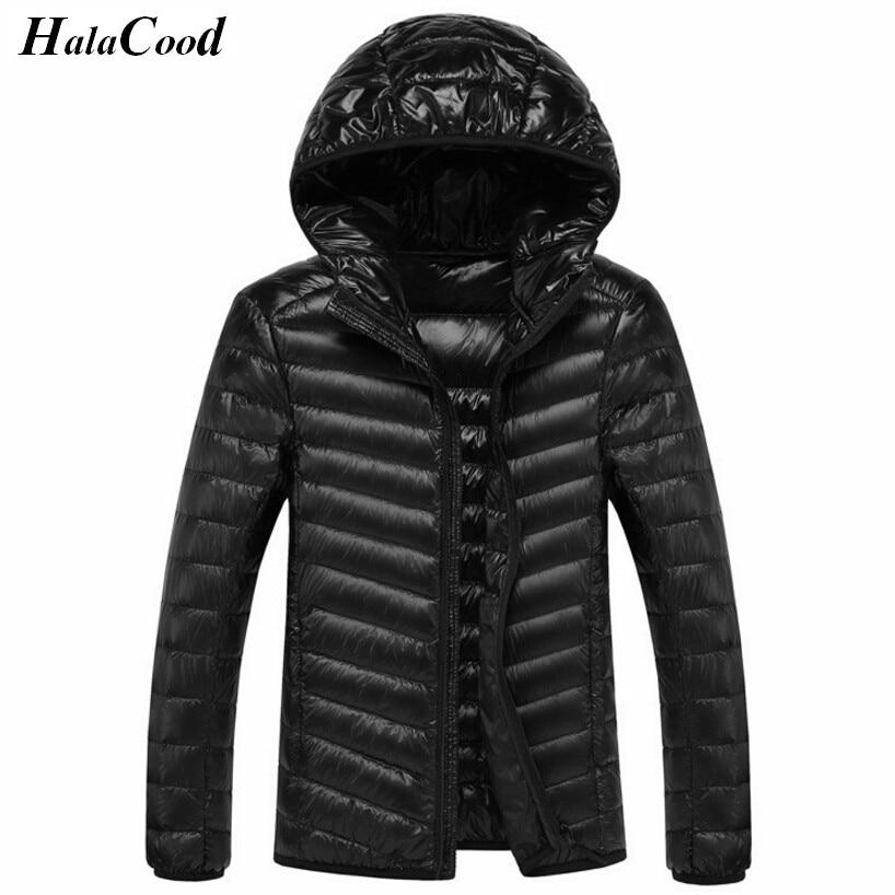 Hot Sell New Casual Brand Wram Men   Down   Jackets Winter Men Jackets Ultra Light Duck   Down     Coats   Winter Windproof Jackets Outwear