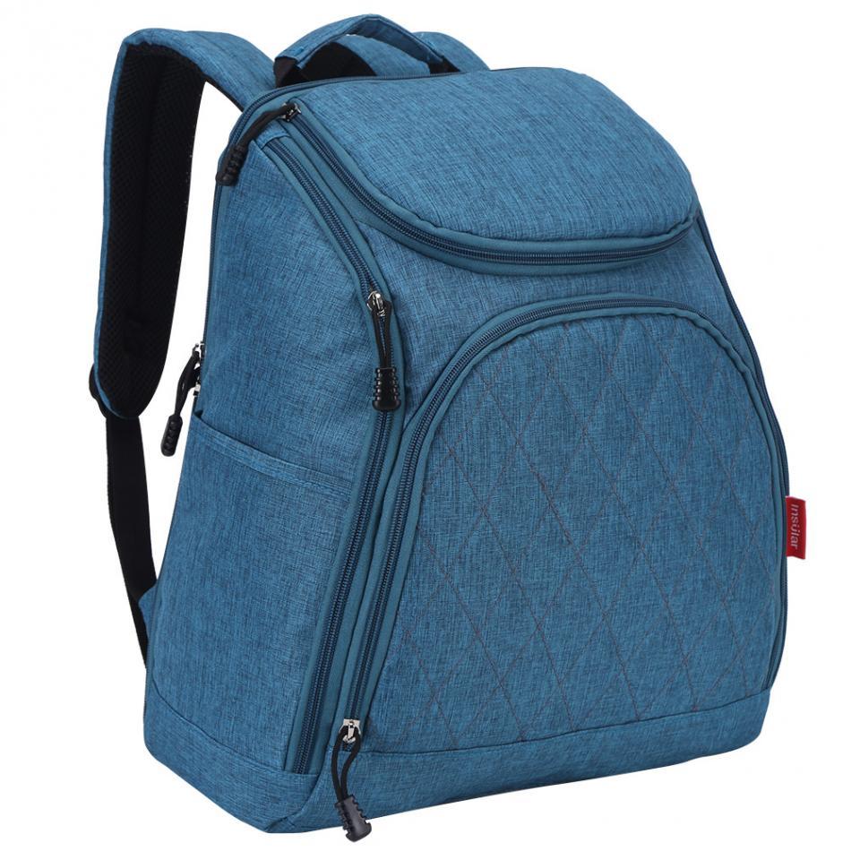 Bolsa de pañales de bebé de moda mamá bolsa de pañales de - Pañales y entrenamiento para ir al baño - foto 1