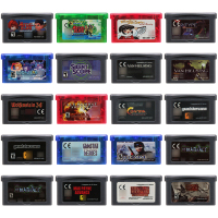 Video Game Cartridge 32 Bit Game Console Card Shooter Series Games