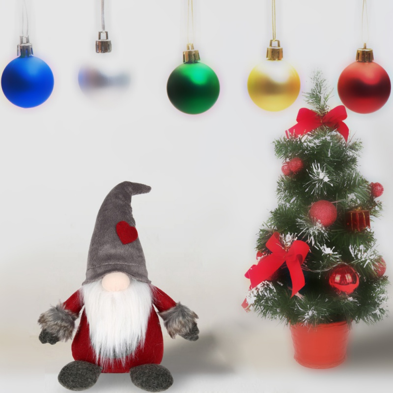 home decor swedish christmas santa claus tomte standing long hat gnome plush doll christmas decorations for home in pendant drop ornaments from home - Swedish Christmas Decorations