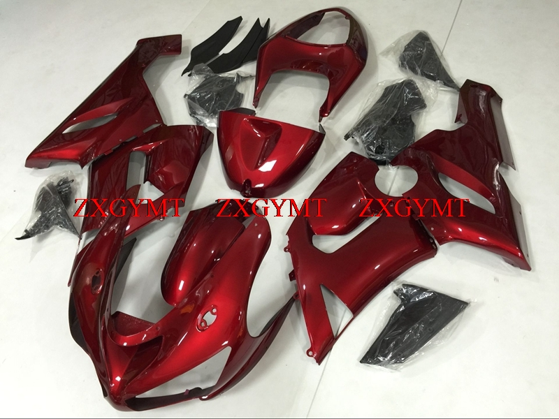 Fairing for Ninja ZX-6r 2005 - 2006 Full Body Kits Ninja ZX-6r 06 Pearl Red Fairing Kits 636 ZX-6r 05Fairing for Ninja ZX-6r 2005 - 2006 Full Body Kits Ninja ZX-6r 06 Pearl Red Fairing Kits 636 ZX-6r 05