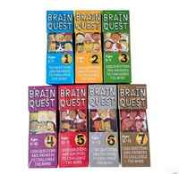 Busca do cérebro versão Em Inglês do desenvolvimento intelectual livros cartão de perguntas e respostas do cartão smart start Criança crianças