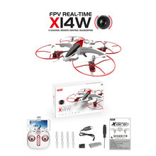 Syma X14W RC Drones With HD Camera WIFI FPV Quadrocopter Headless Mode Remote Control Helicopter Dron Toys