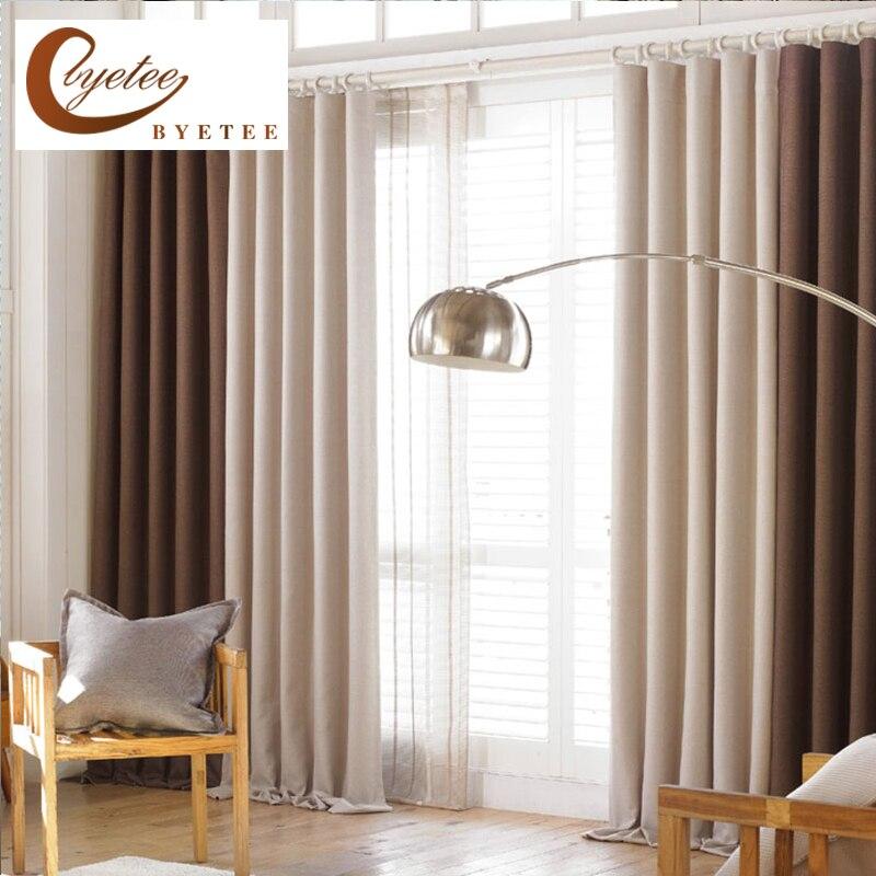 Byetee Modern Living Room Luxury Window Curtains Striped: Aliexpress.com : Buy {byetee} Luxury Modern Linen Curtains