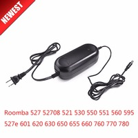 22.5 V 1.25A Power Adapter Sạc cho irobot Roomba 527 52708 521 530 550 551 560 595 527e 601 620 630 650 655 660 760 770 780
