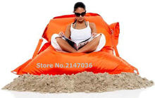 iNDOOR And Outdoor Living Room Furniture Beanbags Chair,waterproof Multifunction Garden Bean Bag,Adult Lazy Sofa Cover,Free Ship