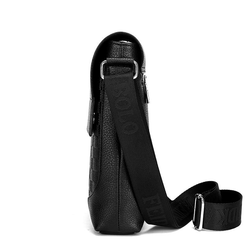 do homem de couro Messenger Bags Size : Width 24 CM * High 26 CM * Thick 7cm