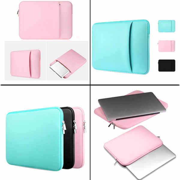 Pochette d'ordinateur pour Macbook Air Pro Retina 11 12 13 14 15 pouces étui souple PC housse étui tablette pour Xiaomi Air HP Dell