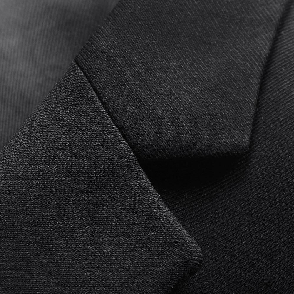 Régulière Version Formel 2016 Au Usure De D'affaires Noir Aller Hommes Costume Nouveautés Costumes Coréenne Fit Qualité Veste Travail Haute IF6Hq