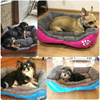Pet Dog Bed Warming Dog House Soft Material Pet Nest Candy Colored Dog Fall and Winter Warm Nest Kennel For Cat Puppy 4 Colors 4