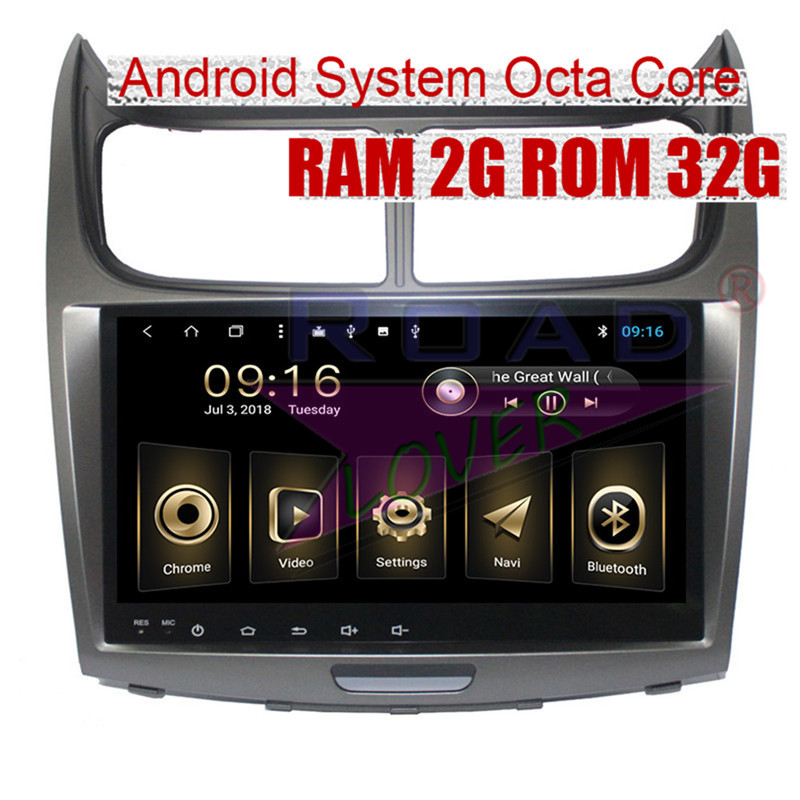 Roadlover Android 8.1 Car Multimedia Autoradio For Chevrolet Sail 2010 2011 2012 2013 2014 Stereo GPS Navigation Magnitol 2 Din