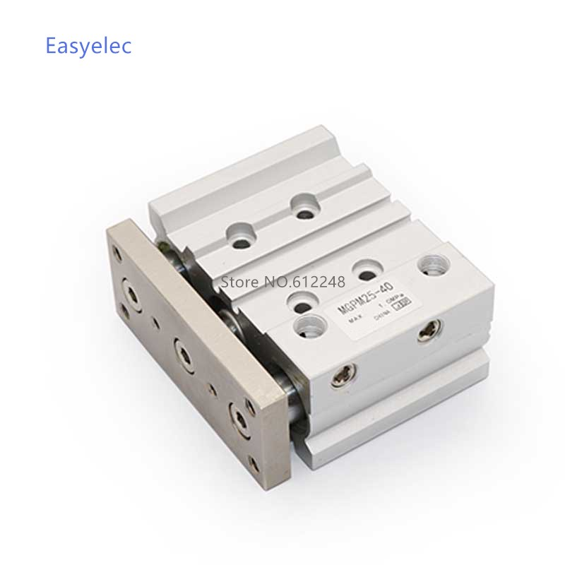 MGPM50-125/150/175/200 Compact pneumatic air cylinder with guide rod cylinder MGPM50-125 MGPM50-150  MGPM50-175 MGPM50-200MGPM50-125/150/175/200 Compact pneumatic air cylinder with guide rod cylinder MGPM50-125 MGPM50-150  MGPM50-175 MGPM50-200