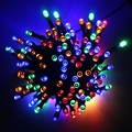 22M LED Fairy Light Solar Powered 200 LED String Light Christmas Tree Lights Outdoor Party Wedding Decoration