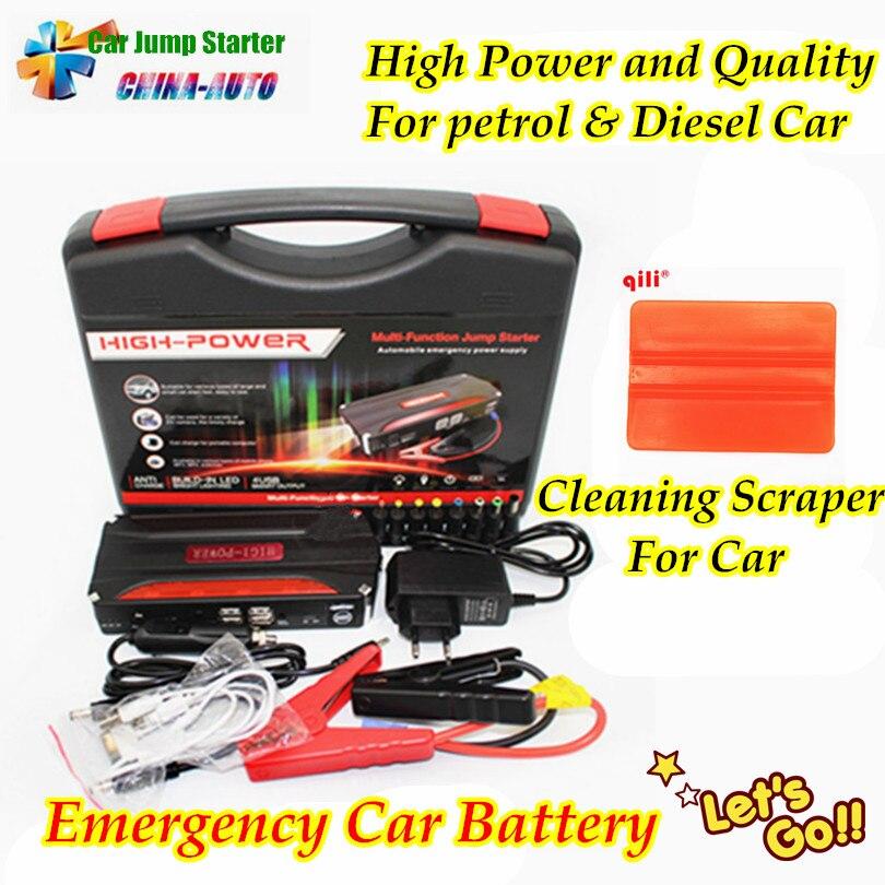New Mini Portable Car Jump Starter Emergency Start 12V Petrol Diesel Engine Multi Function Power Bank