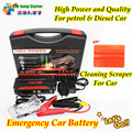 Novo Mini Portátil Carro Saltar de Arranque Partida De Emergência 12 V Gasolina/Diesel Motor Multi-Função de Banco de Potência Da Bateria carregador