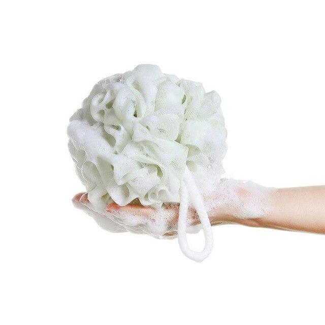 60g di grandi dimensioni 100% Igienico PE Ambientale sfera del bagno Morbido ric
