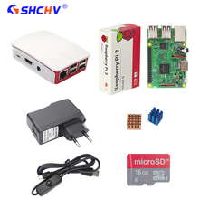 Buy Raspberry Pi 3 Model B Starter Kit + 16G SD Card + Official ABS Case + 2.5A Power Adapter + Switch USB Cable + Heat Sink RPI 3