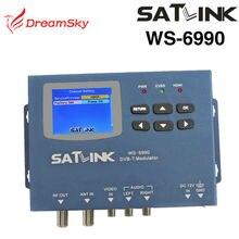 Satlink WS-6990 Meter 1 Route dvb-t-modulator/AV/HDMI Terrestrischen Finder Meter WS6990 Satlink 6990