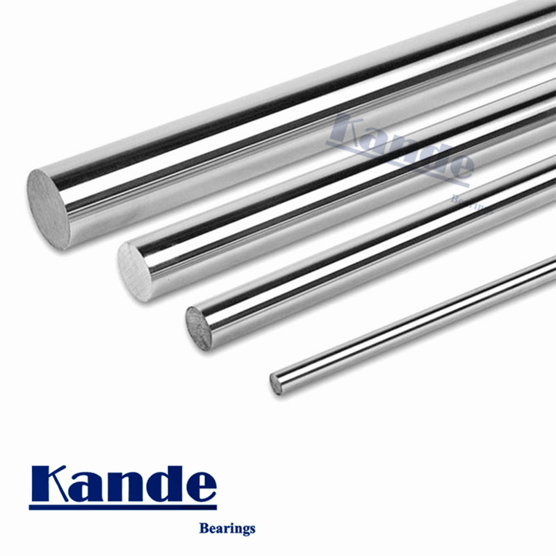 Kande Bearings 1pc d: 3mm 3D printer rod shaft 3mm linear shaft chrome plated rod shaft CNC parts 650mm 700mm 750mm 800mm kande bearings 1pc d 16mm 3d printer rod shaft 16mm linear shaft 230mm chrome plated rod shaft cnc parts 100 700mm