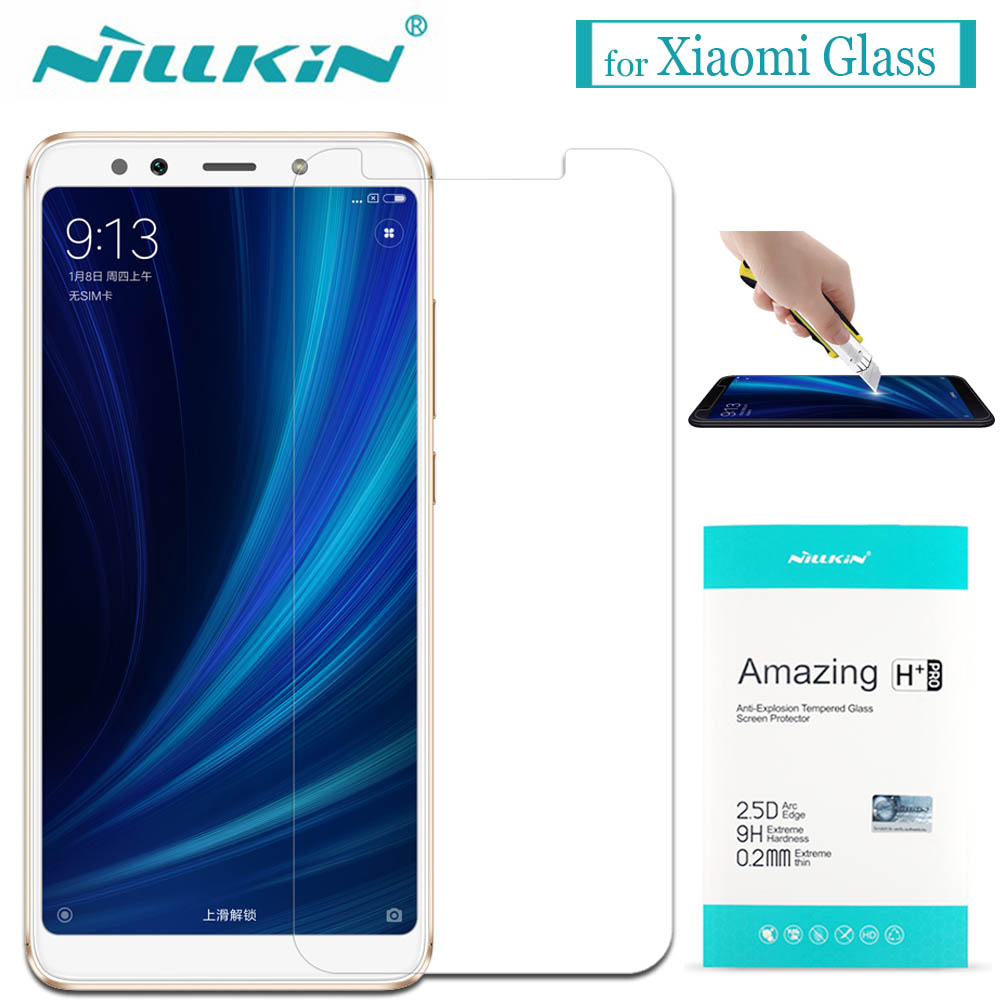 Nilkin for Xiaomi Mi 6X A2 5X A1 6 5S 5 Mix 2S 2 Tempered Glass Screen Protector Nillkin Clear Glass Film for Xiaomi Mi6X Mi5X