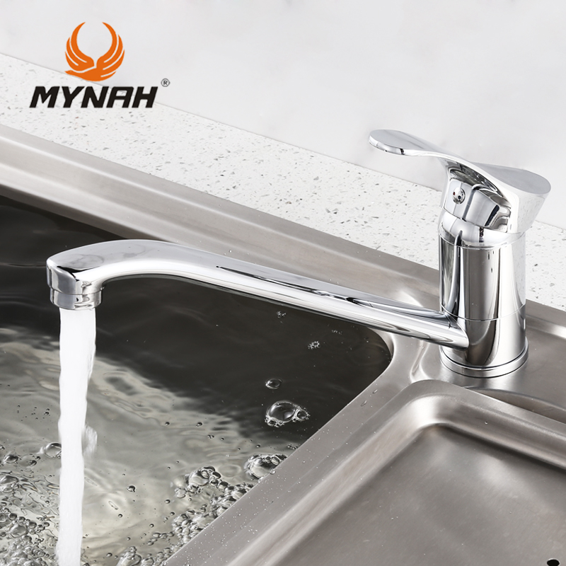MYNAH M4901 Russia free shipping Kitchen Faucet All copper manufacturing Best selling products High quality and