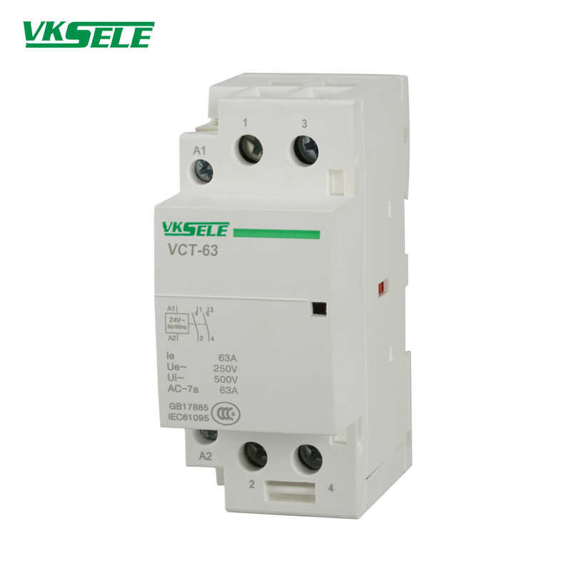 BCH8 63 VCT 63A 2 Pole 2NO / 2NC 220v Single Phase Modular AC Magnetic  Contactor| | - AliExpressAliExpress