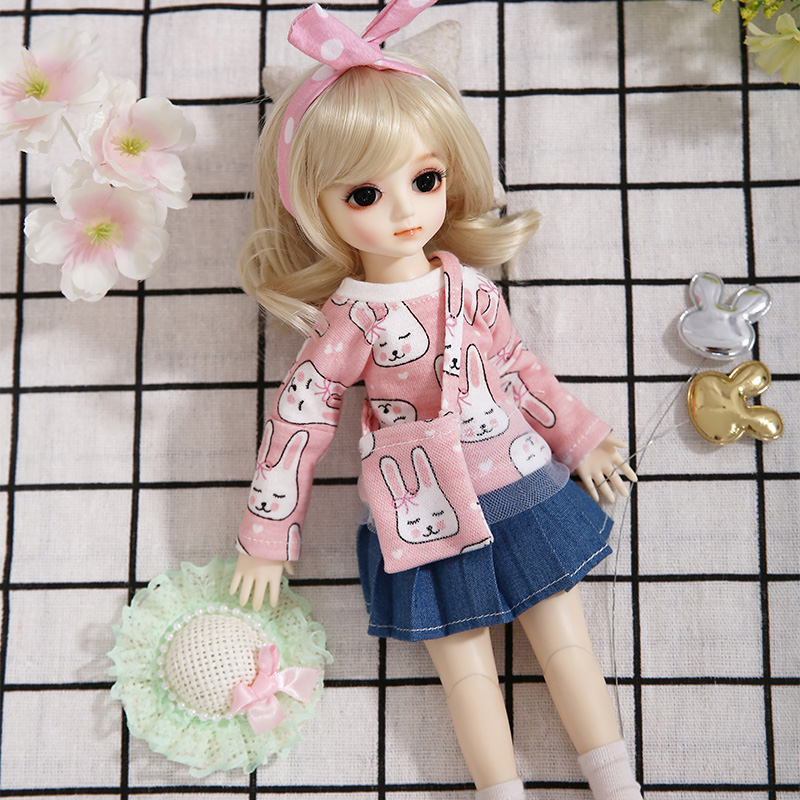 Image 4 - AI Aileen poupée Gaby BJD SD poupées 1/6 corps modèle filles  garçons haute qualité jouets boutique résine chiffres ensemble  completPoupées