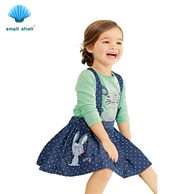 SMALL SHELL 2017 New Style Summer Baby Girls Clothes Sets ...