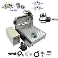 3D CNC Router 3040 Z VFD 1500W Engraver Cutting Milling Machine with Ball Screw