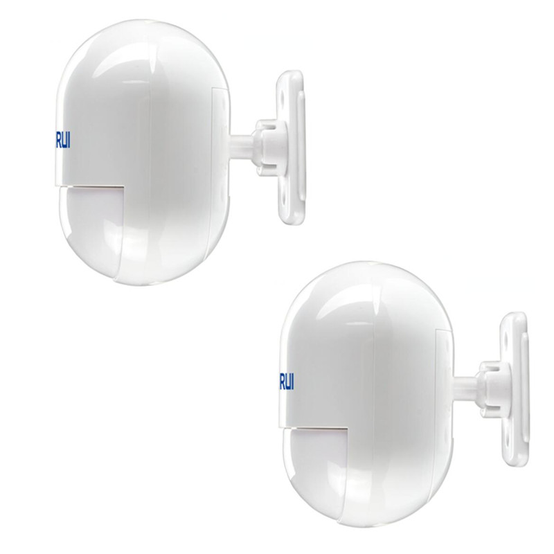 2 pcs/lot KERUI Wireless pir detector wireless 433MHz pir motion sensor For G18 G19 W2 W1 8218G Home Security GSM Alarm System 2 pcs fi5 g18 bp6l q12