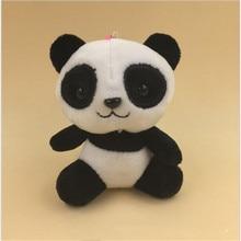 Kawaii Panda plush toys NEW 4 Colors Choice 10CM Plush Stuffed  Animal TOY DOLL Wedding Bouquet Gift