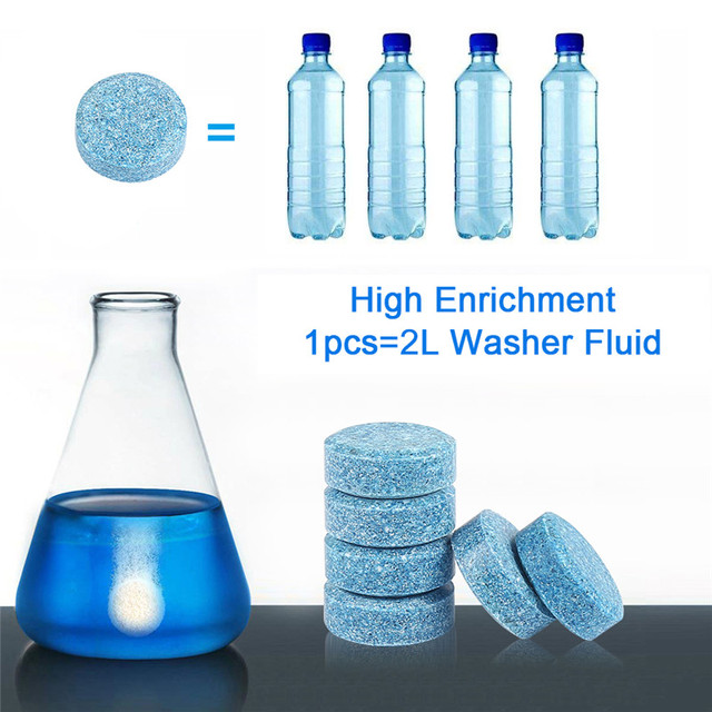 1 pz = 4L Multifunzionale Casa Effervescenti Spruzzare il Detergente-di Vetro Cl