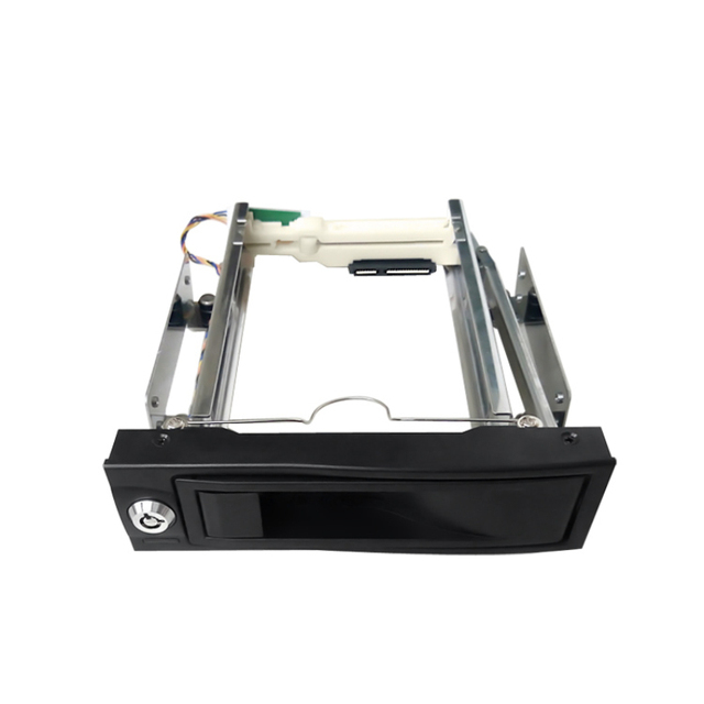 3.5in SIngle bay Aluminum Hot Swap Internal  SATA HDD Mobile  Rack